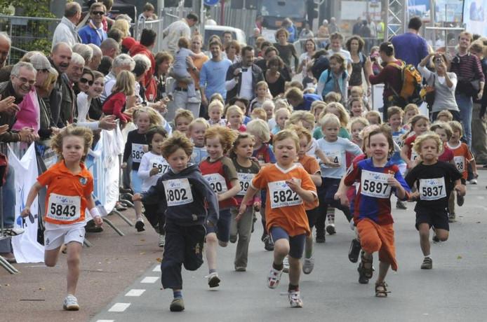 Kidsrun in 2008. Foto Marc Pluim