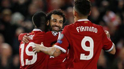 Salah, Mané & Firmino beter dan BBC en MSN