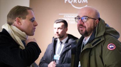 """Premier Michel in Davos: """"Hier om welvaart te creëren"""""""