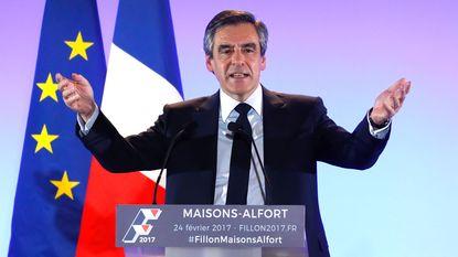 Frans parket gaat Fillon gerechtelijk vervolgen