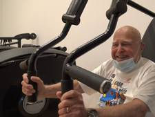 Jan (95) is nog altijd even actief als vroeger