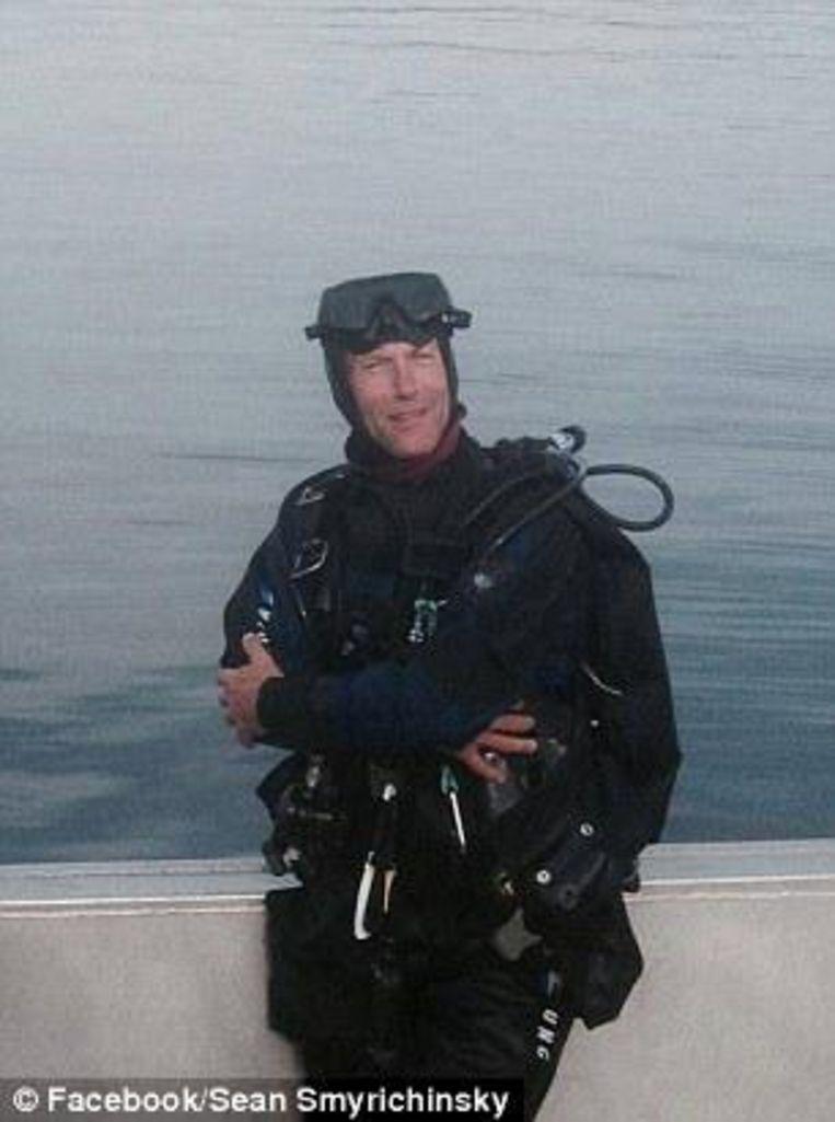 Het was duiker Sean Smyrichinsky die de ontdekking deed.