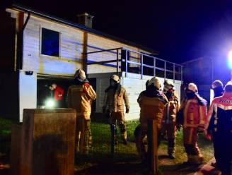 Schade in garage na afvalbrand in bijna compleet gerenoveerde chalet