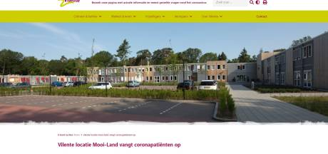 Speciaal coronacentrum ingericht in zorgtehuis in Doorwerth