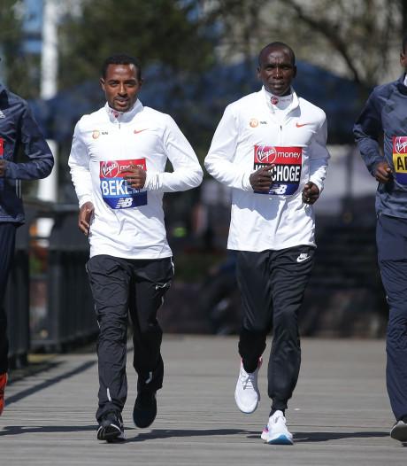 Snelste marathonlopers ooit kruisen de degens in Londen