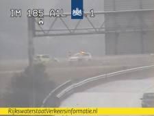 Afrit A1 afgesloten bij Apeldoorn na ongeluk