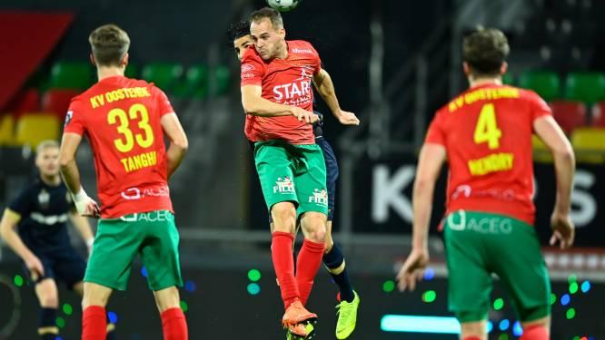 """Brecht Capon voor het eerst sinds maart in basis bij KV Oostende: """"Wist pas twee uur voor wedstrijd dat ik ging spelen"""""""