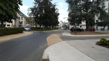 Burgemeestersplein wordt veiliger voor fietsers