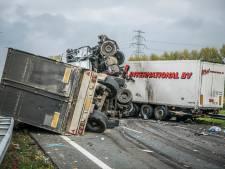 Dodelijk ongeluk A73: 'Vrachtwagen knalde in volle vaart op stilstaand verkeer'