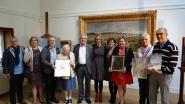 Schenkers kunstwerken Emile Van Doren gevierd
