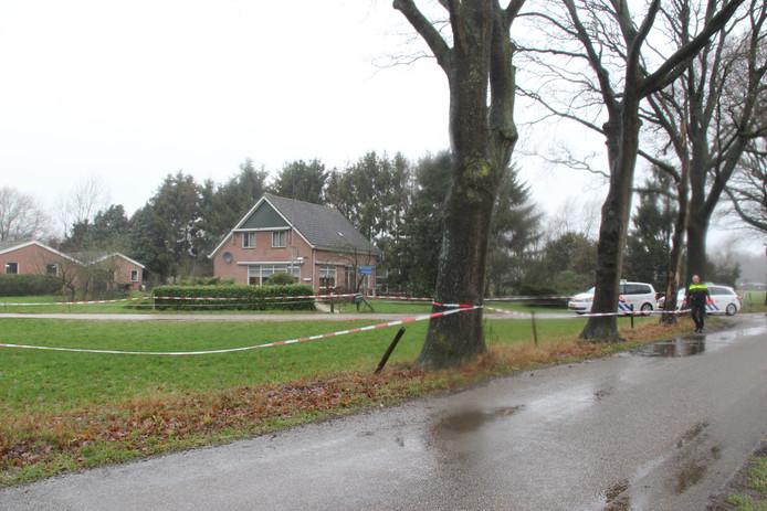 De woning van de twee broers, waar ze werden opgesloten.