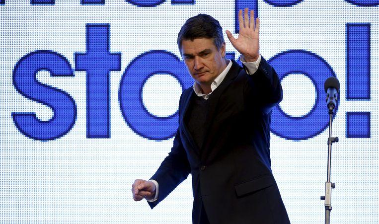 Premier Zoran Milanovic.
