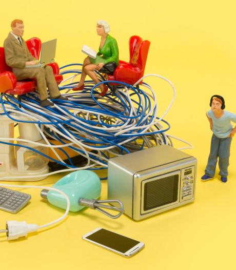 Honderd elektronische apparaten per gezin