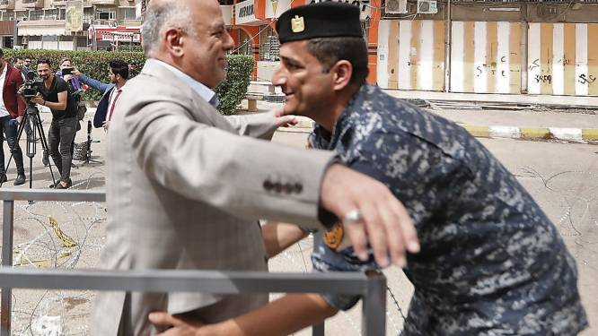 Verkiezingsnederlaag dreigt voor aftredend premier Haider Al-Abadi in Irak