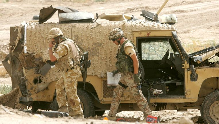 De Britten verbleven van 2003 tot 2008 in Irak. Beeld REUTERS