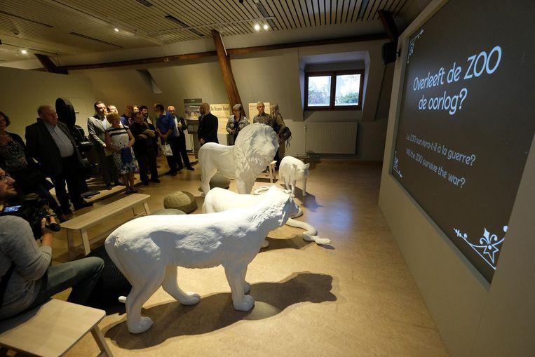 In de slotkamer wordt de evolutie van de Zoo toegelicht.