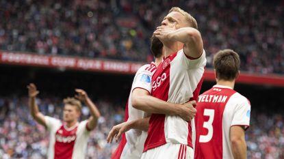 Landstitel kan winnend Ajax niet meer ontsnappen na misstap PSV in Alkmaar