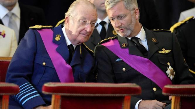 """Albert II: """"Prins Filip geniet mijn volle vertrouwen"""""""