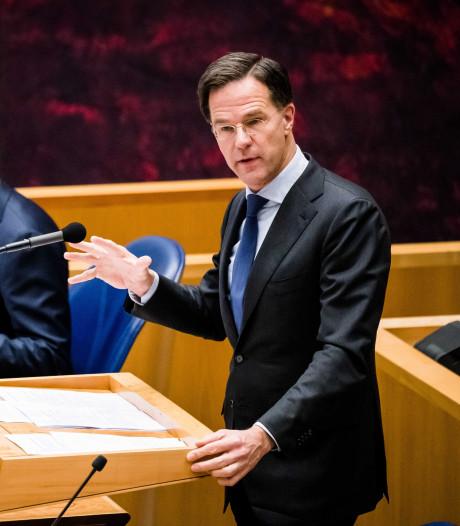 Rutte wil met Italië en Spanje om tafel: wel bereid tot gift, maar geen eurobonds