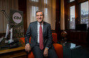 CDA-leider Sybrand Buma in zijn werkkamer op het Binnenhof.