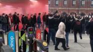 Londens station ontruimd omdat Standard-fans het te bont maken