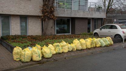 Recyclageparken Verko aanvaarden tijdelijk gele huisvuilzakken