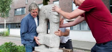 Kunstwerk geplaatst Raambuurt Deventer