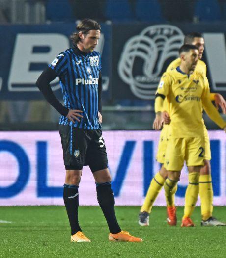 Atalanta met Hateboer, De Roon en Lammers op eigen veld onderuit tegen Hellas Verona