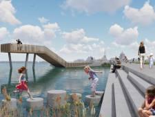 Harderwijk krijgt wandelpromenade De Wijde Wellen met uitkijkpunt over het water