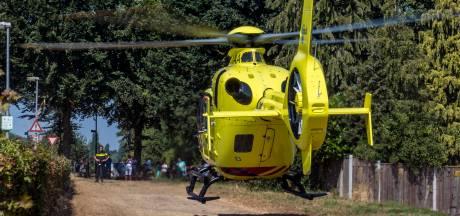Fietser gewond bij ongeval in Raamsdonk, traumahelikoper opgeroepen