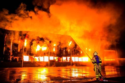 De grote brand in Aalten.