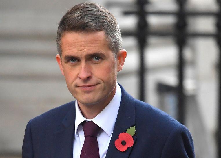 De nieuwe Britse minister van Defensie Gavin Williamson.