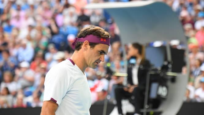 """Federer krijgt boete voor vloeken tijdens duel met Sandgren: """"De lijnrechtster spreekt dus ook dat taaltje"""""""
