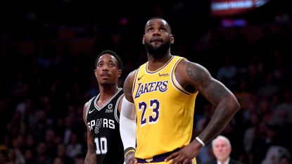 Na een briljante driepunter de grote schlemiel: basketbalgod LeBron James kent horrorstart bij Lakers