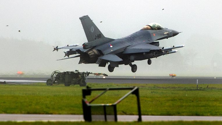 F-16 Beeld ANP