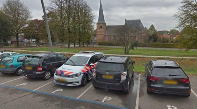 Het dorpsplein in Groesbeek.