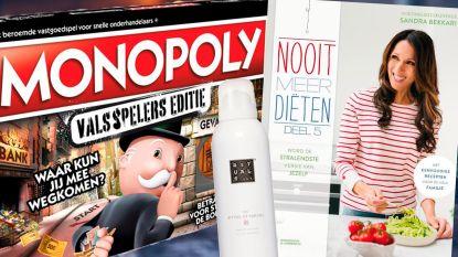 Nog geen idee wat je moet kopen voor kerst? Kookboeken, Rituals en gezelschapsspelen zijn erg populair dit jaar