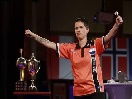 Darter Sharon Prins uitgeroepen tot 'Nederlands ranking kampioen'