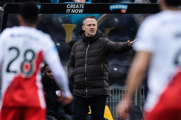 FC Utrecht-trainer John van den Brom