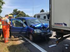 Ongeluk A65 bij Vught, weg is weer open