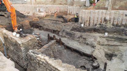 Archeologen leggen nu ook fundering Melaan bloot