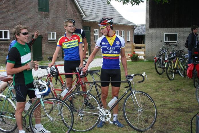 Rechts op de foto de uiteindelijke winnaar Tom Meulendijk uit Nijmegen