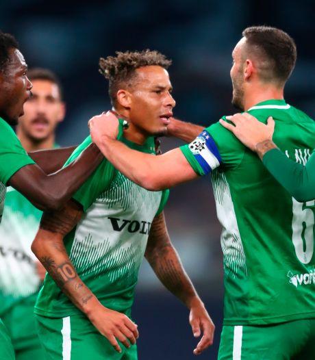 Surinaams voetbalelftal verwelkomt Dankerlui, Koolwijk, Chery en vijf anderen