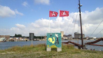 Kunstparcours De Cadixroute op het Eilandje is verhuisd naar toekomstig park aan de Ring