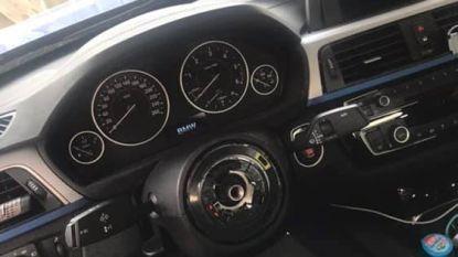 Stuur gestolen uit BMW in Evergem