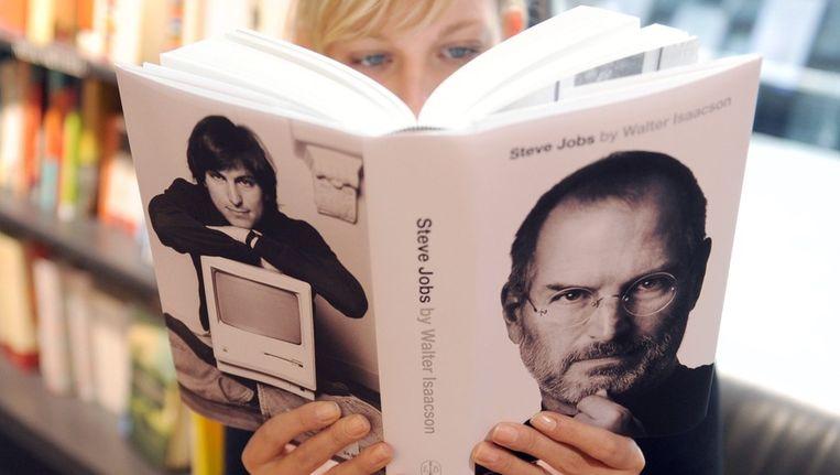 De biografie van Steve Jobs. Beeld afp