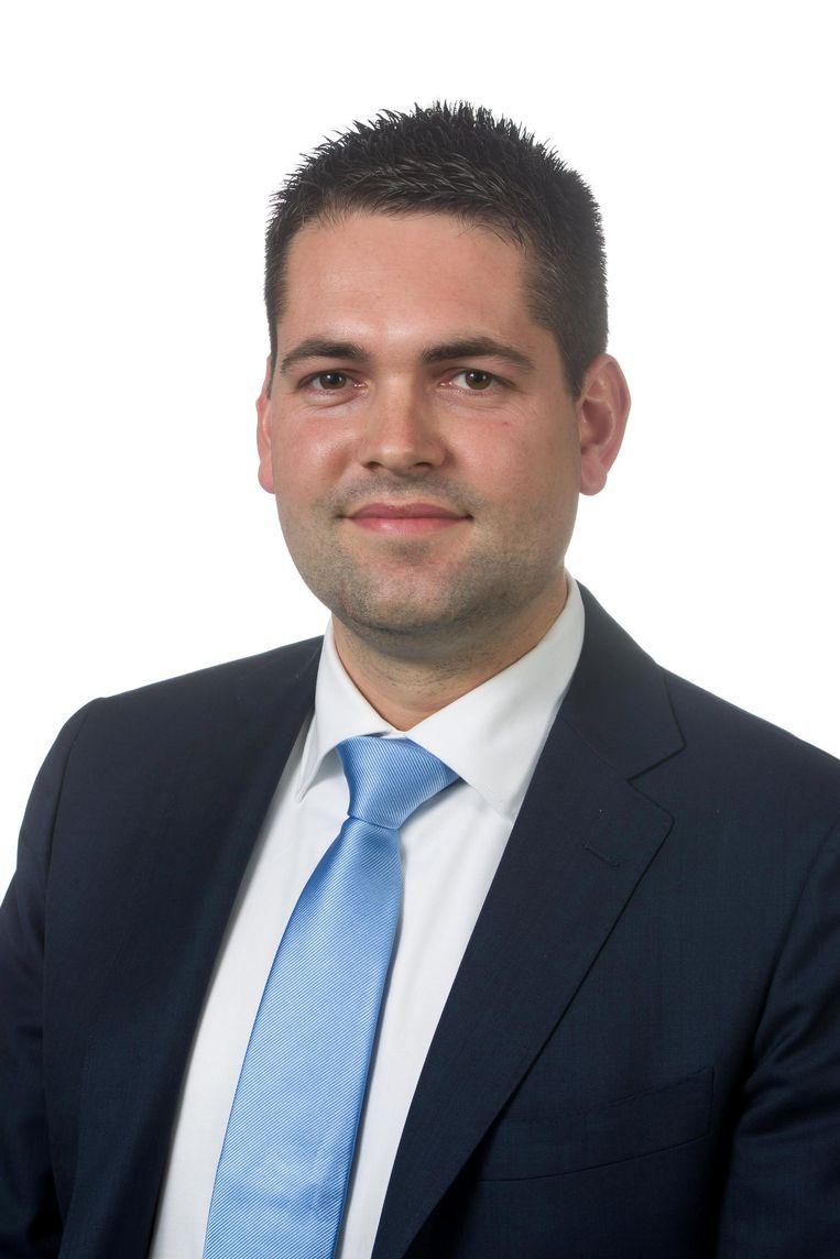 Joost van den Akker, promovendus EU-referenda aan de Universiteit Twente. Beeld Rechtenvrij