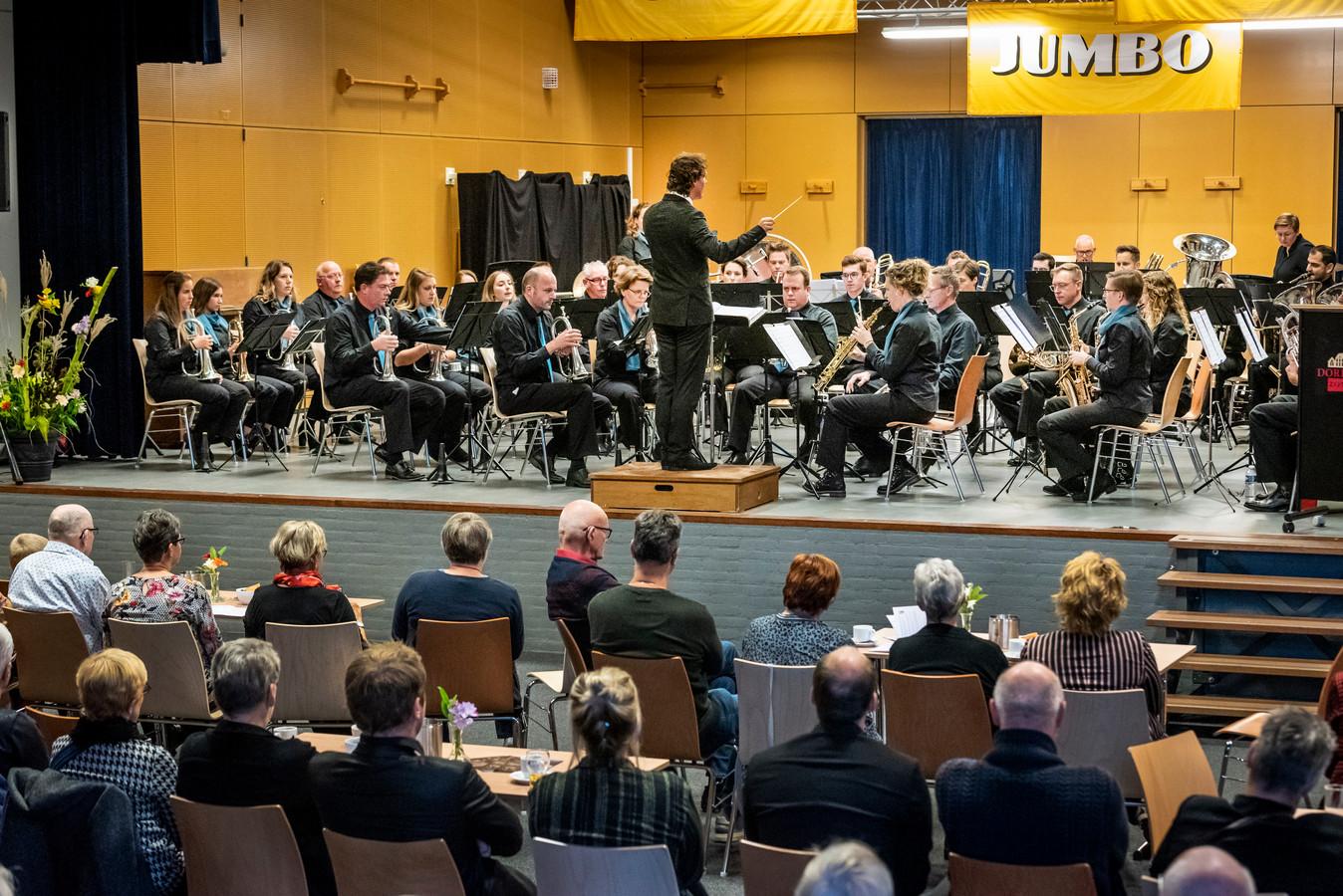 In 't Klooster is dit weekend het Jumbo muziekfestival, met optredens uit de verre regio. Op de foto titelverdediger Zijtaart.