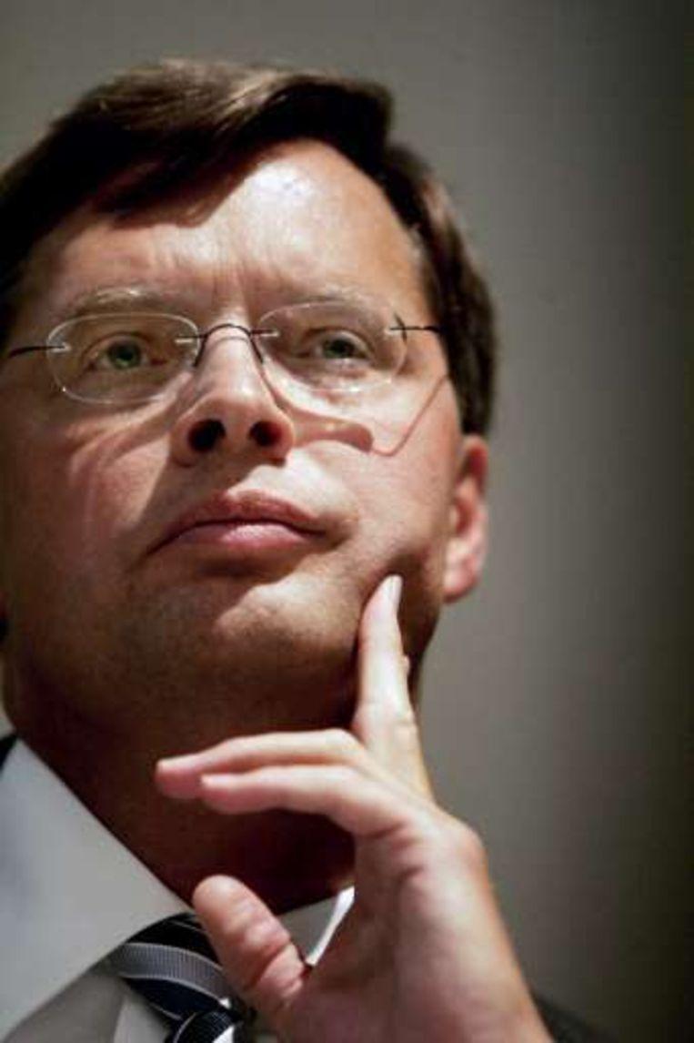 Premier Balkenende zoekt in Brussel rugdekking.