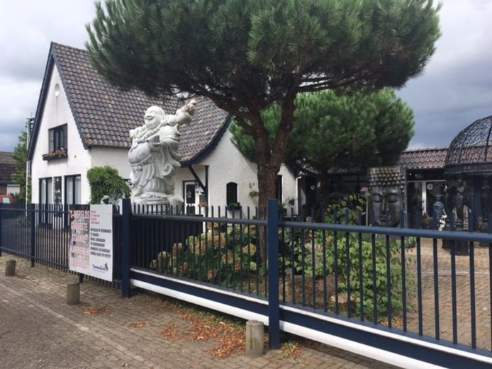 Het bedrijf in Berghem.